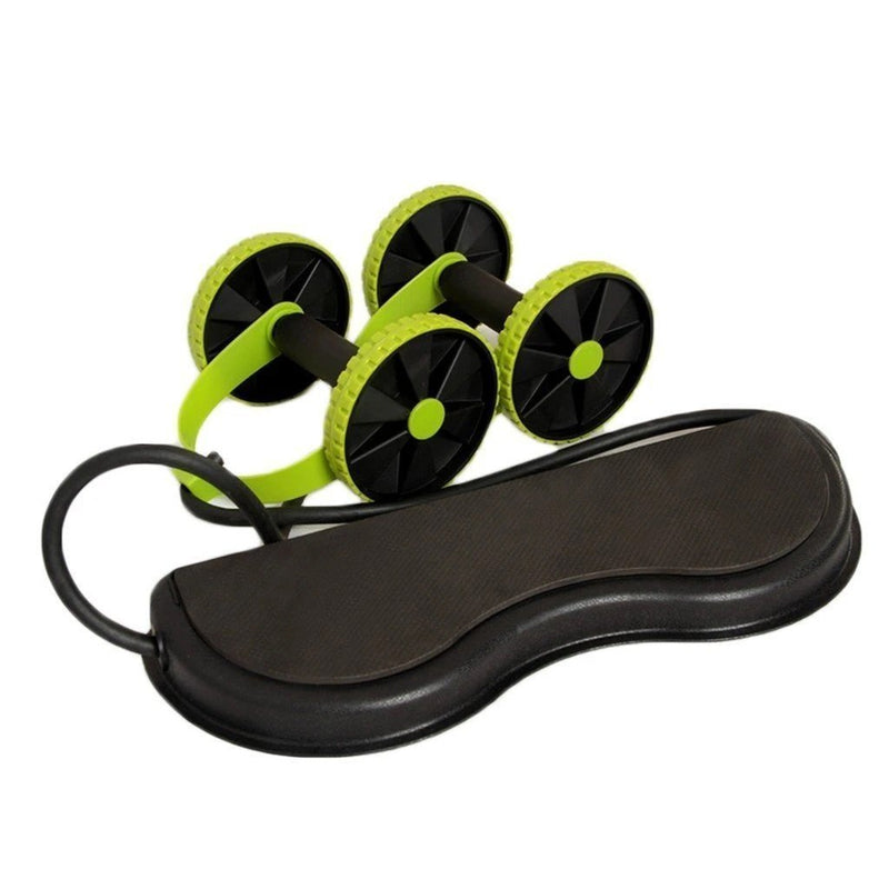Ab Wheel Roller Abs Core Exercise Workout  Portable Machine - Shapexy™ Ab Rollers Shapexy™ Hourglassify®