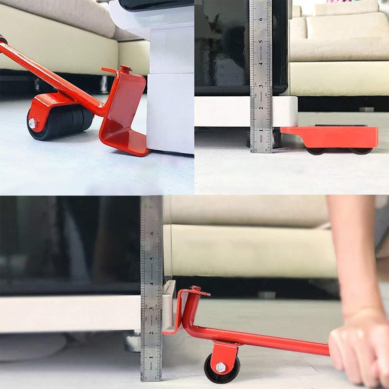 Furniture Moving Wheels Furniture Lifter Roller Slider Tool  - Shiftzy™ Accesorios para muebles Shiftzy™ Hourglassify®