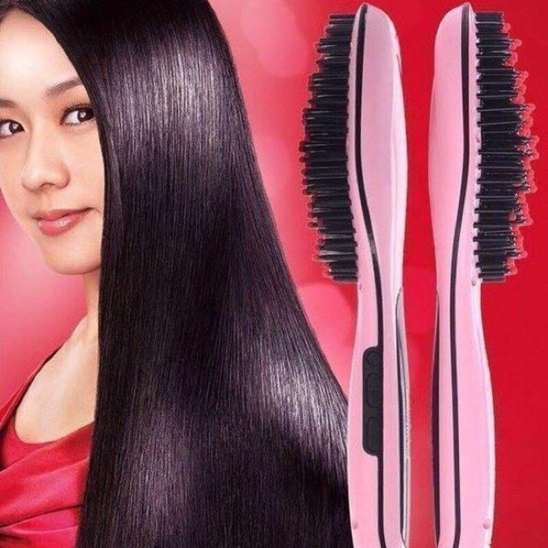 Hair Straightner Brush Hourglassify®