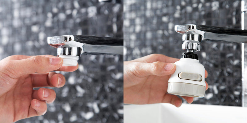 Kitchen Faucet Accessories Hyflowe™ Hourglassify®