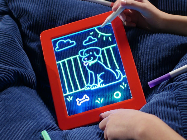 Light Drawing Board Led Draw Toy Coloring Board Pad - Glowix™ Glowix™ Hourglassify®