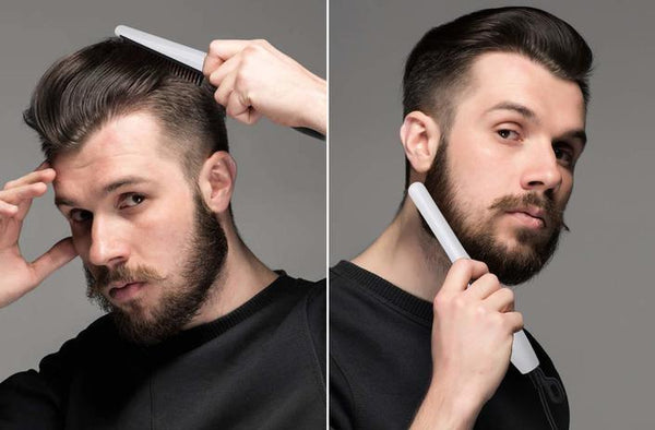 Men Beard Straightener Comb Men Hair Straightening Electric Tool - Smoothix™ 2.0 Combs Smoothix™ 2.0 Hourglassify®