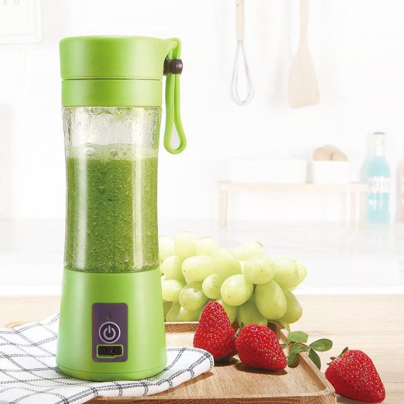 Mini Smoothie Blender Portable Fruit Juice Extractor- Blendinator™ Portable Blender Green Blendinator™ Hourglassify®
