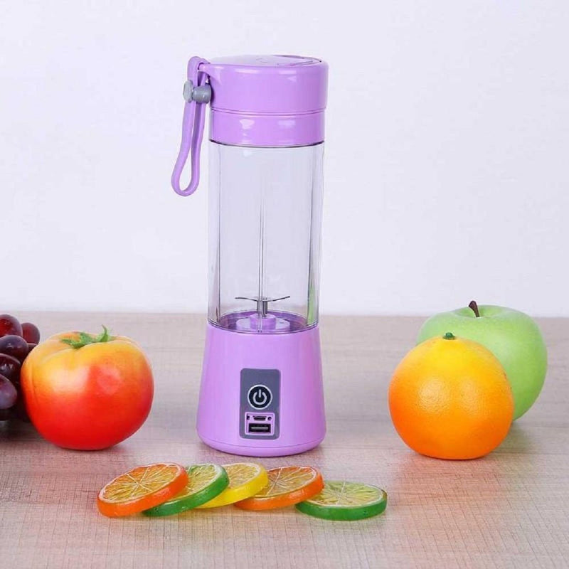Mini Smoothie Blender Portable Fruit Juice Extractor- Blendinator™ Portable Blender Purple Blendinator™ Hourglassify®
