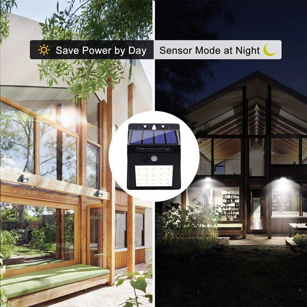 Motion Sensor Solar Outdoor Durable LED Light - Solariska™ Solar Lamps Solariska™ Hourglassify®