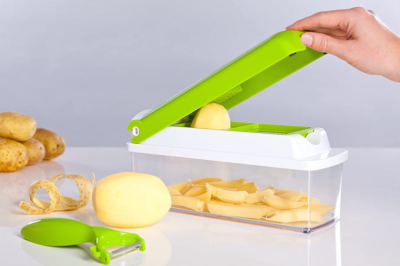 Vegetable Cutter and Chopper Onion Cutting Machine Veggies Grator - Snapcer™ Snapcer™ Hourglassify®