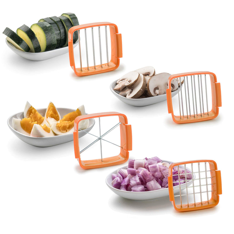 Vegetable Fruit Salad Cutter Slicer Dicer Machine - Slicie™ Shredders & Slicers Slicie™ Hourglassify®