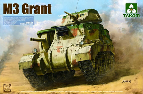 Takom 1/35 British M3 Grant Medium Tank Kit
