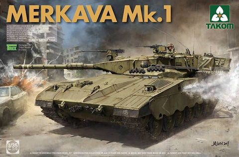 Takom 1/35 Israeli Merkava Mk I Main Battle Tank Kit