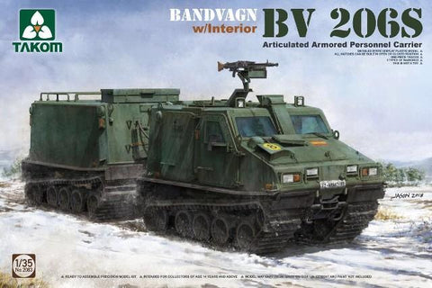 Takom 1/35 Bandvagn BV206S Articulated Armored Personnel Carrier w/Interior Kit