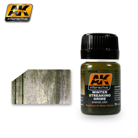 AK Interactive White Spirit Enamel Thinner 35ml Bottle