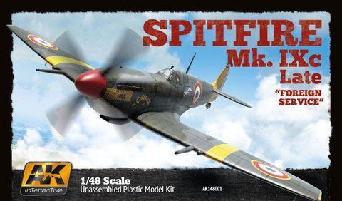 AK Interactive Aircraft 1/48 Spitfire Mk IXC Late Fighter Kit