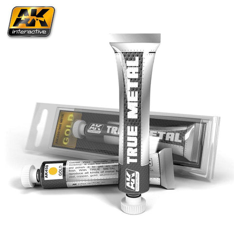 AK Interactive True Metal Wax Gold 20ml Tube