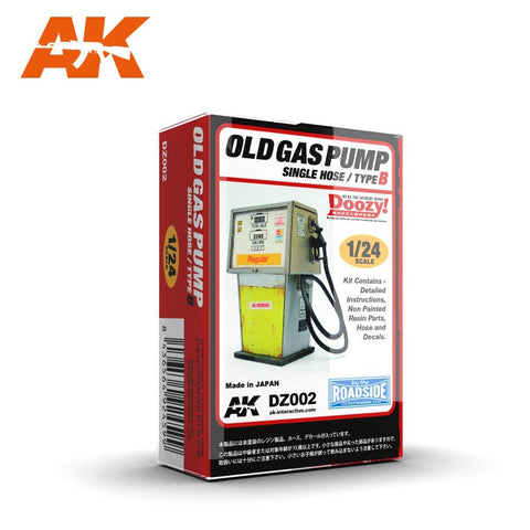 AK Interactive 1/24 Doozy Series: Regular Old-Type Gas Pump w/Single Hose (Resin) Kit