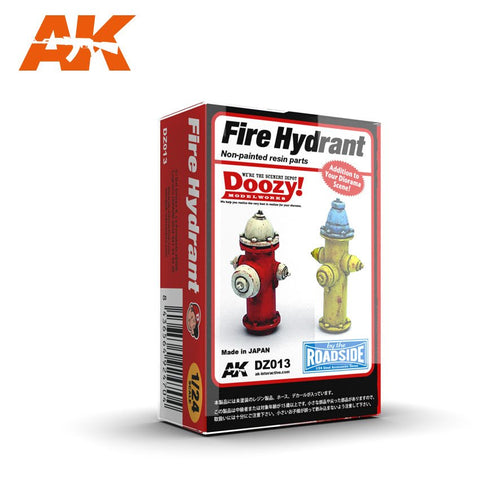 AK Interactive 1/24 Doozy Series: Fire Hydrants (2) (Resin) Kit