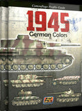 AK Interactive Books - 1945 German Colors Camouflage Profile Guide Book