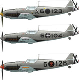 AK Interactive Aircraft 1/48 Bf109E1/E3 Over Spain Fighter Kit