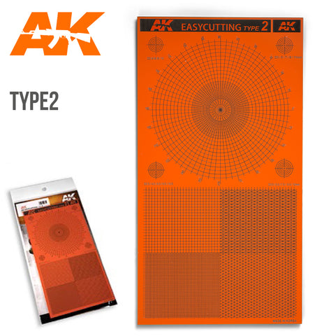 AK Interactive Tools Easy Cutting Type 2 Board