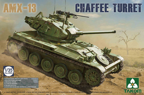 Takom 1/35 French AMX13 Chaffee Turret Light Tank Algerian War 1954-62 Kit
