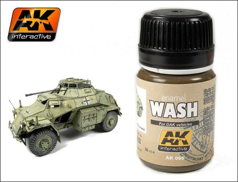 AK Interactive DAK Vehicle Wash Enamel Paint 35ml Bottle