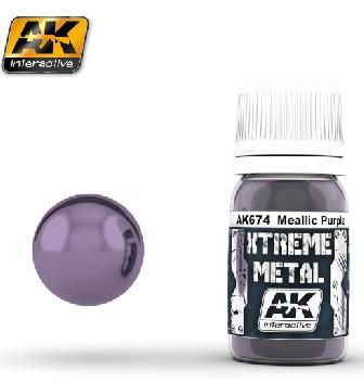 AK Interactive Xtreme Metal Purple Metallic Paint 30ml Bottle