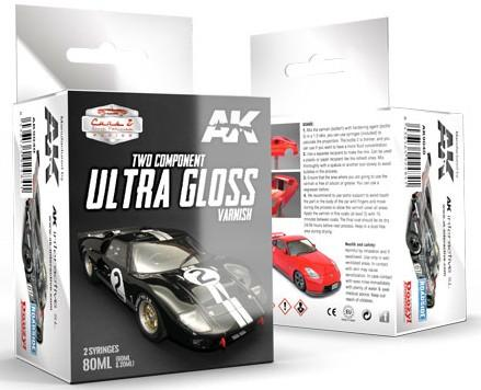 AK Interactive Cars & Civil Vehicles Series: Two-Part Component Ultra Gloss Varnish