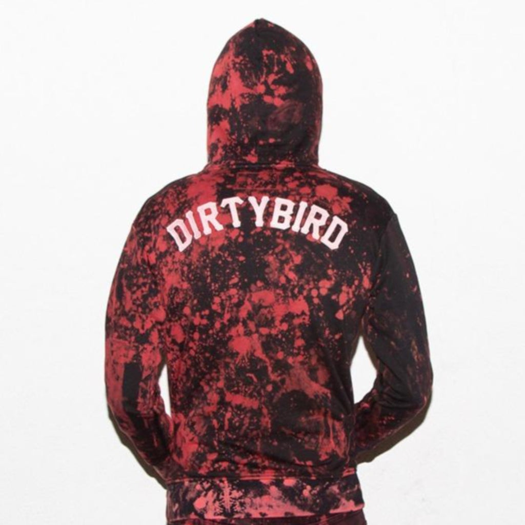 Acid Wash 3.0 Dirtybird 15-Year Women's Black Zip Hoodie