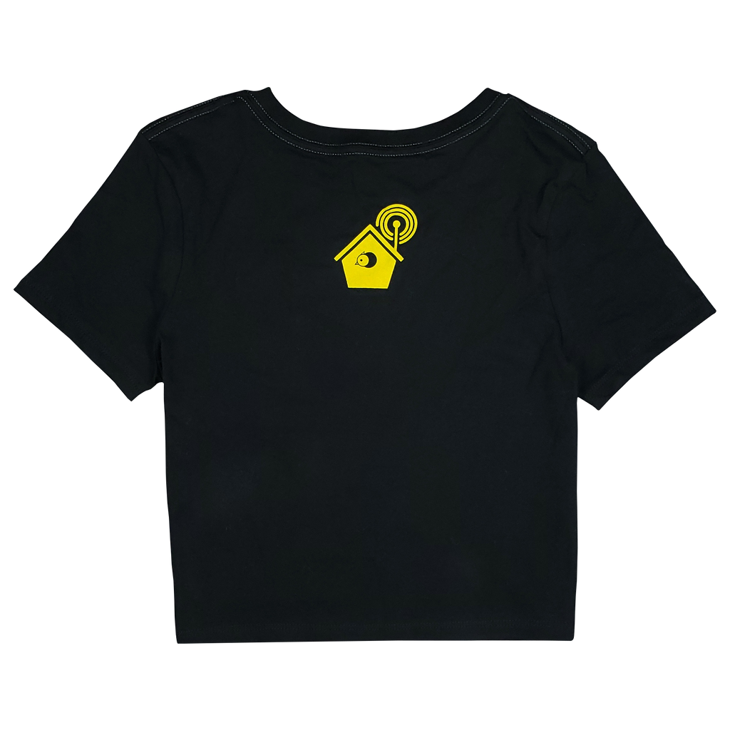 Birdhouse Festival Chicago Women's Cropped T-Shirt