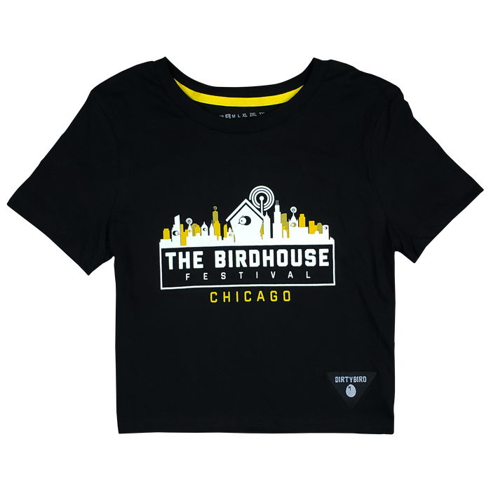 Birdhouse Festival Chicago 2018 Women's Crop T-Shirt