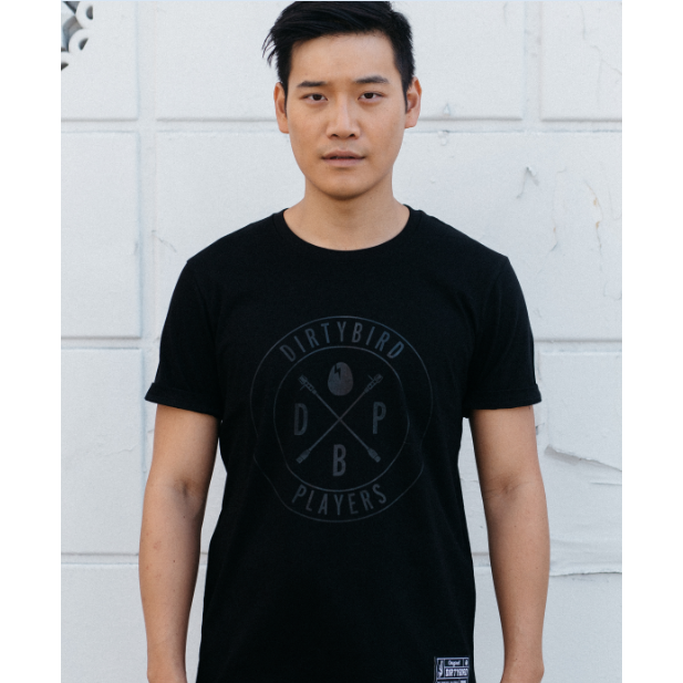 Black Tonal Players T-Shirt