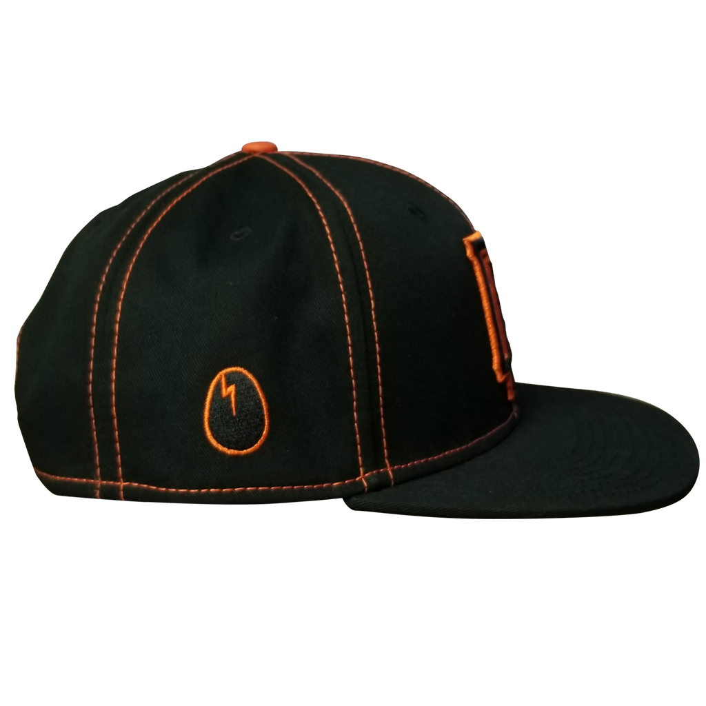 Dirtybird Orange Baseball Snapback