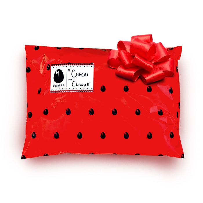 Holiday Gift Wrap with Bag, Bow & Tag