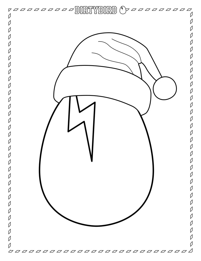 Dirtybird Holiday Coloring Book