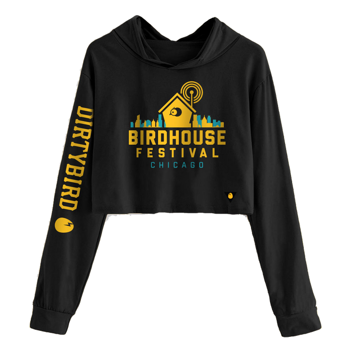 Birdhouse Festival Chicago 2019 Cropped Pullover Hoodie (PRE-ORDER)
