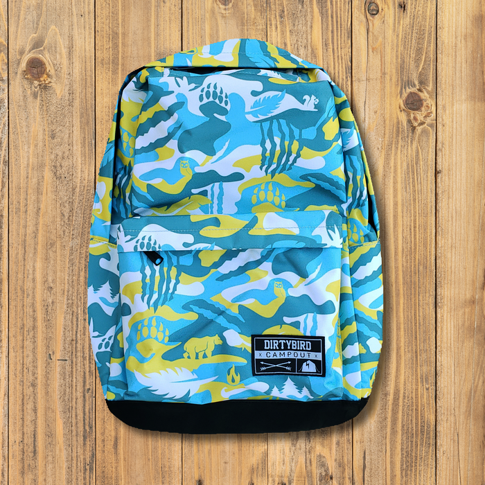 Dirtybird Campout West 2018 Camo Backpack