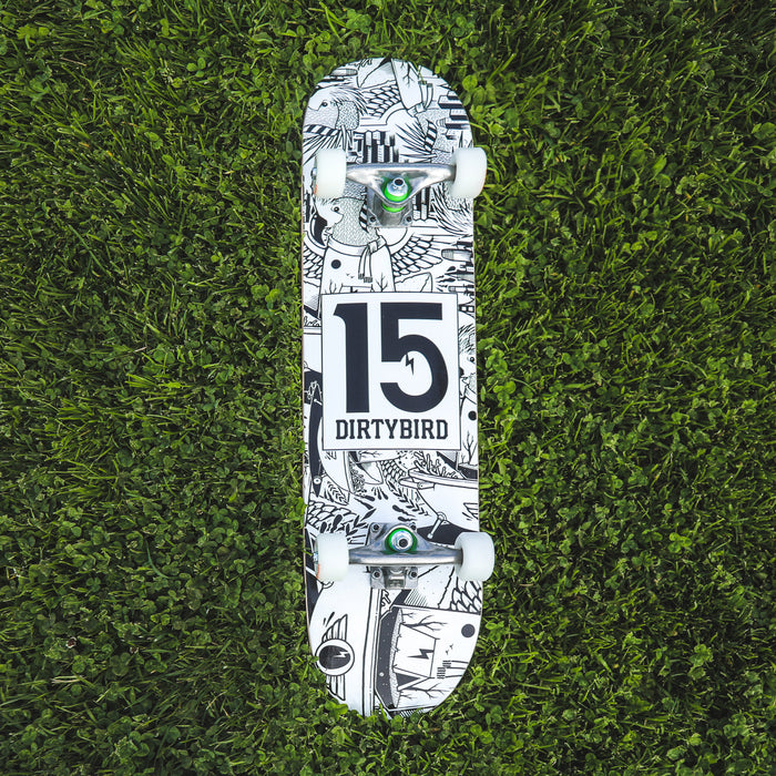 Jeremy Fish x Dirtybird 15-Year Freaks Skate Deck