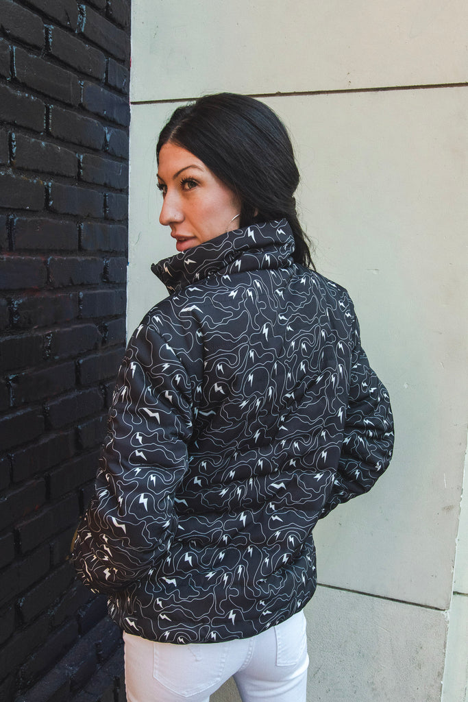 Ghost Camo Puffy Jacket