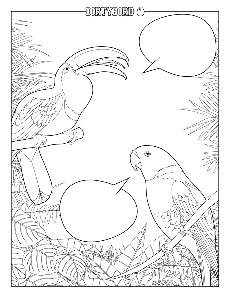 Dirtybird Coloring Book
