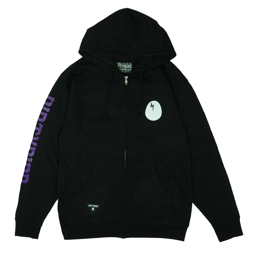 Dirtybird Egg Patch Zip Hoodie