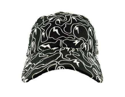 Ghost Camo Embroidered Dad Hat