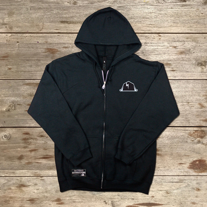 Dirtybird Campout East 2018 Black Zip-Up Hoodie
