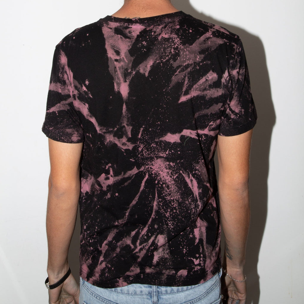 Acid Wash 2.0 Purple/Yellow Stretched Dirtybird T-Shirt