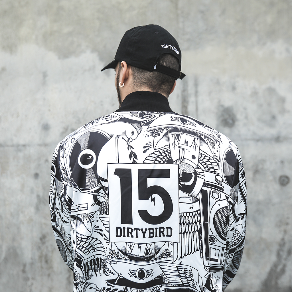 Jeremy Fish x Dirtybird 15-Year Jacket