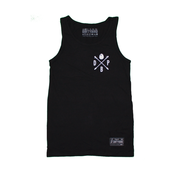 Men's Black Players Tank