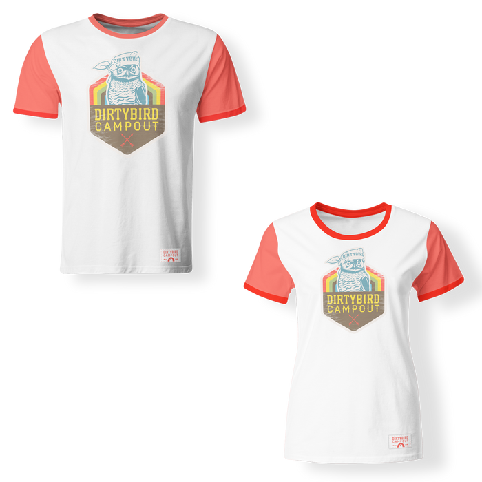 Dirtybird Campout West 2019 Official Ringer T (PRE-ORDER)