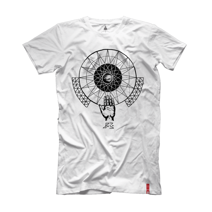 "Barclay Crenshaw ""Sleepy Kids"" T (White)"