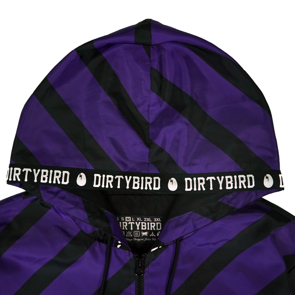 Dirtybird Striped Windbreaker (PRE-ORDER)