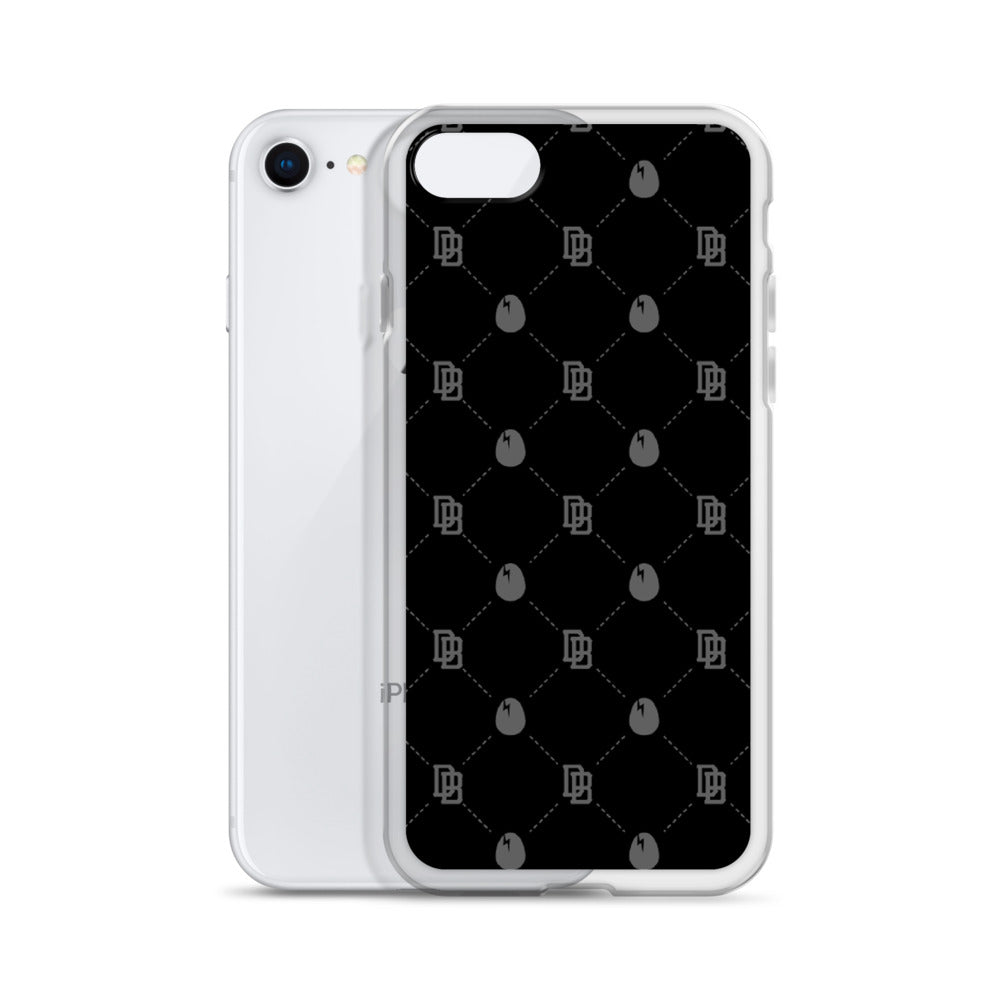 Dirtybird Logo Pattern iPhone Case