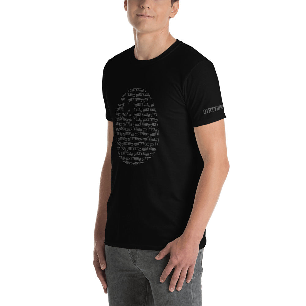 Dirtybird Arced Egg Short-Sleeve Unisex T-Shirt
