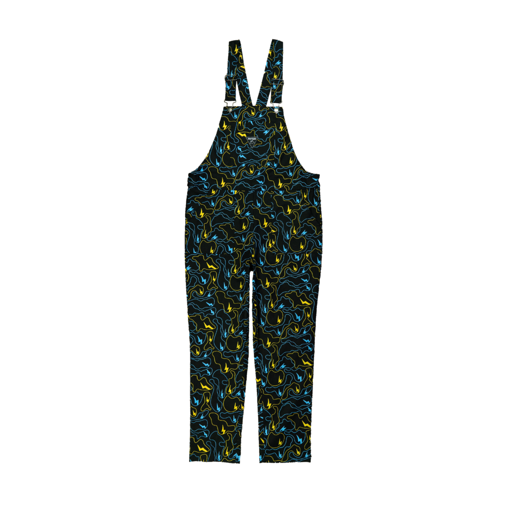 Lightning Ghost Camo Overalls
